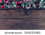 composition with decorated... | Shutterstock . vector #354552983
