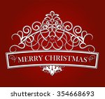 typographic composition in red...   Shutterstock .eps vector #354668693