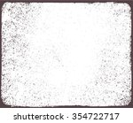 grunge frame.grunge background... | Shutterstock .eps vector #354722717