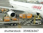 aircraft loading container bins
