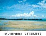 low tide | Shutterstock . vector #354853553