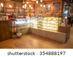 coffee and bakery shop blur... | Shutterstock . vector #354888197