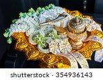 accessory of thai wedding... | Shutterstock . vector #354936143