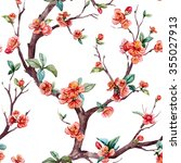 Watercolor Floral Pattern...