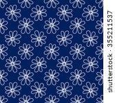 floral seamless pattern. lovely ... | Shutterstock .eps vector #355211537