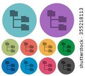 color folder structure flat...