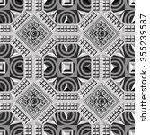 seamless abstract geometric... | Shutterstock . vector #355239587