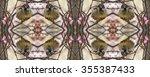 Kaleidoscopic Pattern Of Angry...
