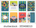 celebration festive background... | Shutterstock .eps vector #355408313