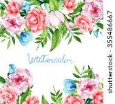 card for you  handmade ... | Shutterstock . vector #355486667