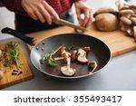Fresh Sliced Mushrooms Are...