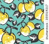 Quince Seamless Pattern