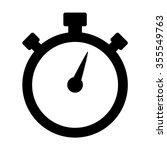 stopwatch   stop watch timer... | Shutterstock .eps vector #355549763