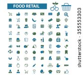 food  drinks  grocery  icons ... | Shutterstock .eps vector #355553303