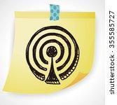 doodle wifi | Shutterstock . vector #355585727