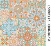 seamless vector pattern.... | Shutterstock .eps vector #355680077