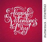 paper inscription happy...   Shutterstock .eps vector #355698563