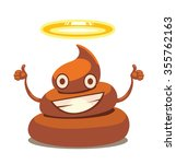 image of holy shit with face... | Shutterstock .eps vector #355762163