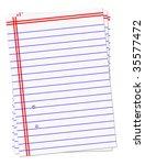 note book | Shutterstock . vector #35577472