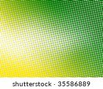 abstract green dot background