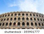 bullring arena in valencia ... | Shutterstock . vector #355901777