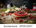 beautiful and delicious berry... | Shutterstock . vector #355913357