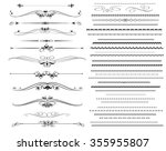 ornamental rule lines in... | Shutterstock .eps vector #355955807