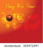 happy new year | Shutterstock .eps vector #355972397