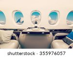 luxury interior in bright... | Shutterstock . vector #355976057