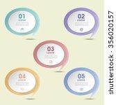 simplicity infographic design... | Shutterstock .eps vector #356020157