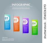 contemporary infographic design ... | Shutterstock .eps vector #356026193