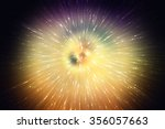 abstract gold background.... | Shutterstock . vector #356057663