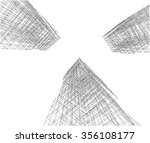 abstract architecture building | Shutterstock . vector #356108177