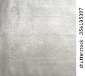 vector silver foil background... | Shutterstock .eps vector #356185397