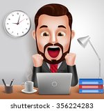3d realistic professional... | Shutterstock .eps vector #356224283