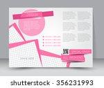 flyer  brochure  magazine cover ... | Shutterstock .eps vector #356231993