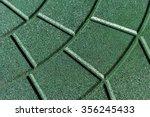 textured rubber crumb...   Shutterstock . vector #356245433