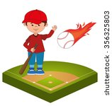 baseball sport game graphic... | Shutterstock .eps vector #356325803