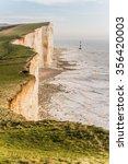 beachy head lighthouse | Shutterstock . vector #356420003