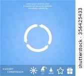 circular arrows vector icon   Shutterstock .eps vector #356425433