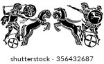 background in the greek style.... | Shutterstock .eps vector #356432687