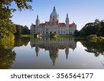 Stock photo new town hall building rathaus in hannover germany 356564177