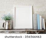3d rendering of frame  hipster...   Shutterstock . vector #356566463
