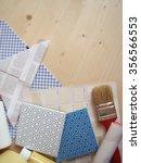interior design  renovation and ... | Shutterstock . vector #356566553