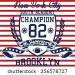 new york city   brooklyn... | Shutterstock .eps vector #356578727