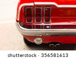 Detail Of Classic Car Tail Light
