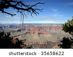 view of the grand canyon from...