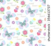 Seamless Pattern Butterflies...