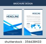 business brochure illustration | Shutterstock .eps vector #356638433