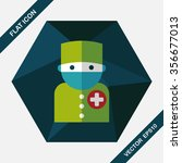 medical people with... | Shutterstock .eps vector #356677013